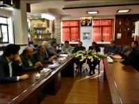 جلسه هیئت اُمنای آرامستان نجف آباد