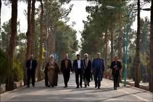 جلسه  و بازدید هیئت اُمنای آرامستان نجف آباد