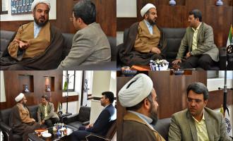 دیدار با حجت الاسلام محمدی