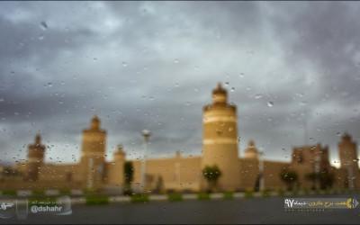 نجف آباد بارانی _دیماه 97