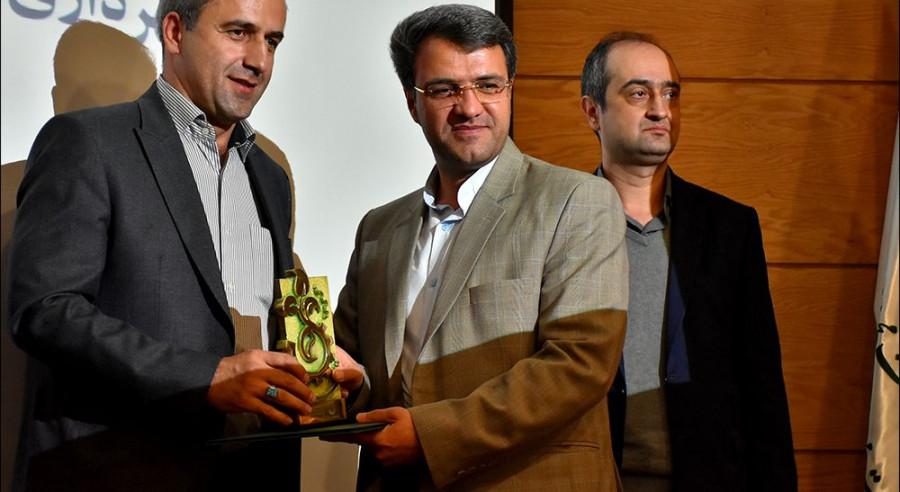 نجف آباد سبزترین شهرداری استان / عکس /کلیپ
